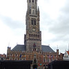 A full brass band played in front of the Belfort in Market Square the Sunday we were in Bruges.