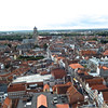 Looking at the Sint-Salvatorskathedraal from the top of the Belfort.