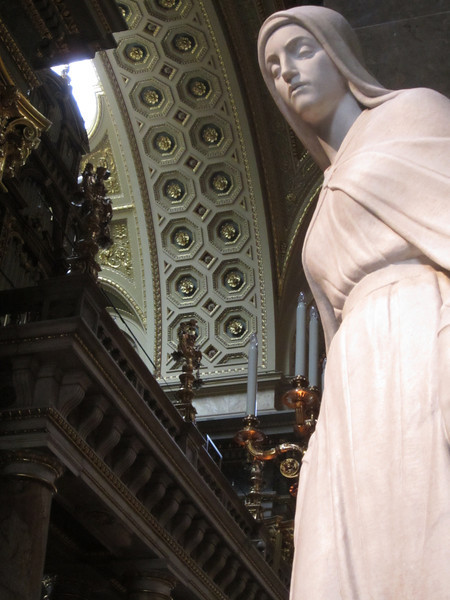 St. Stephen's Basilica; interior view (great shot by Cathy)