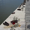 Holocaust Shoe Memorial along Danube east bank (Pest)