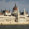 Hungarian Parliament building from the cruise boat