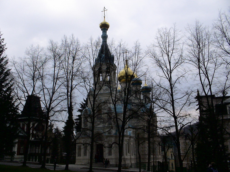 St. Peter and Paul, Russian Orthodox Church, Karlovy Vary.