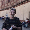 Alan inside Karlstejn Castle.