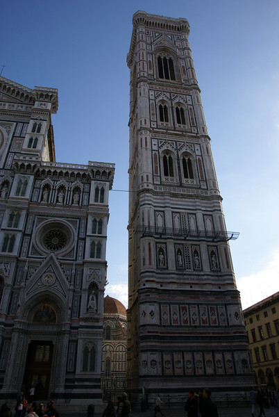 Bell tower of the Duomo - Florence, Italy