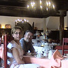 Kim and Alan at our hotel in Lido, Albergo Quatro Fontane