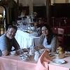 Alan and Zuzana at our hotel in Lido, Albergo Quatro Fontane