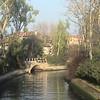 Canal to our hotel in Lido, Albergo Quatro Fontane