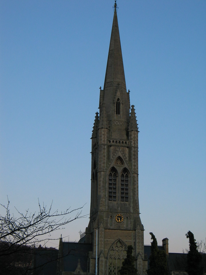 <b>Random church spire in the town of Bath.</b>