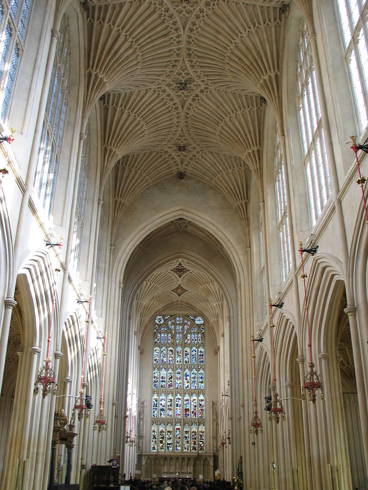 <b>The Bath Abbey</b>