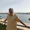 Alan along St. Elmo's Bridge overlooking Valletta Grand Harbor.