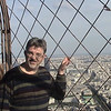Alan on Eifel Tower.