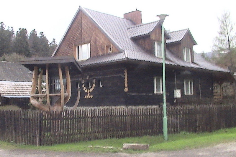 Our Lodge in the Bieszczady Mountains.