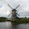 One of the stone windmills on the west side of the main canal.