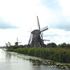 Several more of the stone windmills on the west side of the main canal.