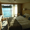 Our stateroom on the Kvasir.