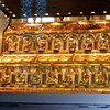 The sacred reliquary supposedly holding the relics or bones of the Magi, or the Three Wisman, that visited Bethlehem at the birth of Christ.