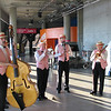 Dixieland Band present for EANS at convention center.