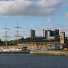 The Glenlee in Glasgow harbor.
