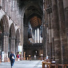Inside Glasgow Cathedral.