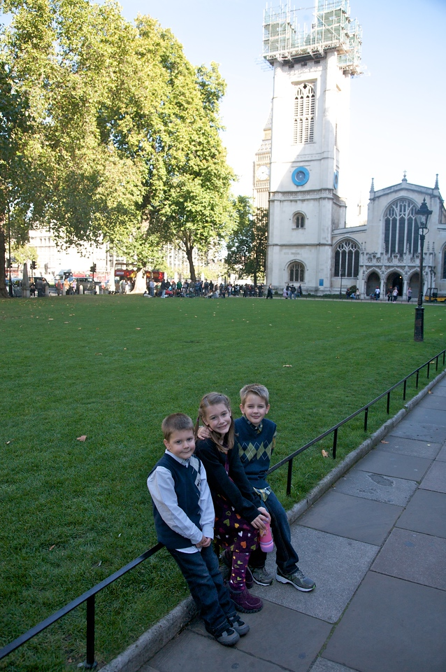 Waiting for Westminster Abbey