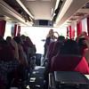 Fun in  the coach