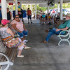 Lynn, Jerry and Roe waiting for an Airboat ride.