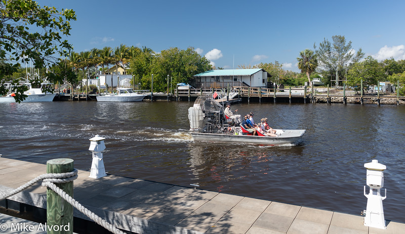 The only problem is there are airboats going by from 9 to 5.