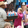 and since it was Flag Day weekend, the appropriately-colored snow cones
