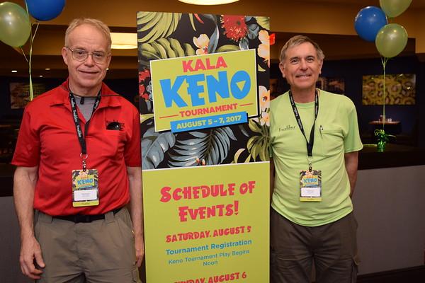 """Excalibur""""s Kala Keno Tournament Aug5-7 2017"""