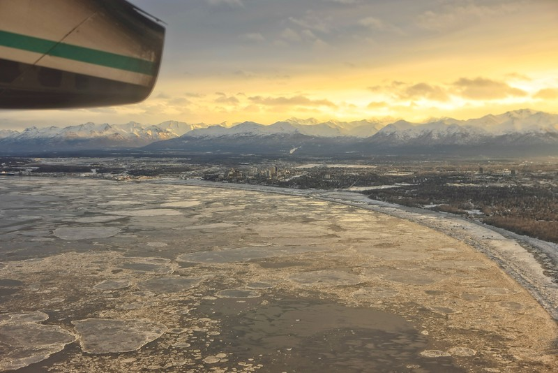 Leaving Anchorage