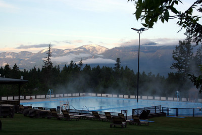 """Since the """"land of the smoking waters"""" was first discovered, Fairmont Hot Springs has been a unique and exceptional place. Since the 1880's people have been enjoying our naturally hot mineral pools and fresh mountain air. It's peaceful. It's curative. In addition, guests now enjoy three golf courses, a family ski area, dining venues, shopping and adventure-programming."""