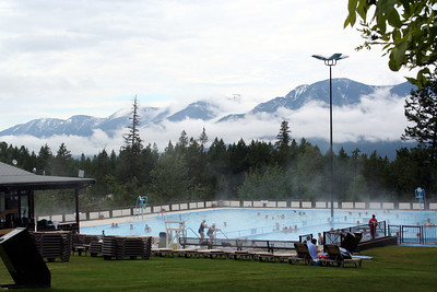Crystal clear and all natural, the mineral hot springs in BC at Fairmont Hot Springs Resort are a legendary attraction and also Canada's largest natural hot springs. Slip into the soothing hot water and feel your worries wash away as you gaze through the steam toward stunning views of Fairmont Ridge — the most prominent peaks in the Stanford Range of the Rocky Mountains. Renowned for their therapeutic qualities, Fairmont Hot Springs Resort's hot springs are among the cleanest in North America. Over 1.5 million gallons of mineral-rich BC hot spring waters flow through the pools daily, and at night the pools are drained, scrubbed, and refilled by morning.   Guests of the Lodge enjoy unlimited access to the hot springs, and to the guest hot springs complex, featuring Nordic-style hot and cold plunge pools, a steam room, a sauna, and a private outdoor soaking pool.   The hot springs are open almost every day of the year, including Christmas, and closing times change during peak and shoulder season