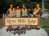 Our 1st day hunt. We finished at about 11 am and had our limit of 5 birds each.