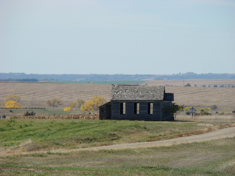 This is an old school house that was on the property.