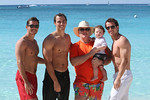 The Guys in Cayman, Casey, Keith, Don, Luke and Kevin 12-30-11!