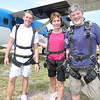 Skydivers to the core!  Chris, Kim and Alan