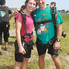 Kim and Doug, her instructor before the big jump.