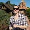 Alex in Disneyland