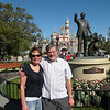 Kim and Alan in Disneyland