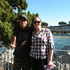 Alex and Jesse in Disneyland