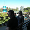 Chris and Carrie in Disneyland