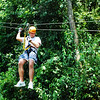 Chris on the Zipline.