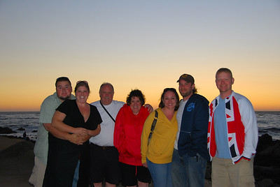Everyone at sunset.