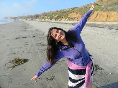 Walking the beach. Joy!
