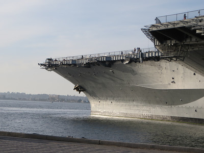 USS Midway (CV-41). Now a museum.