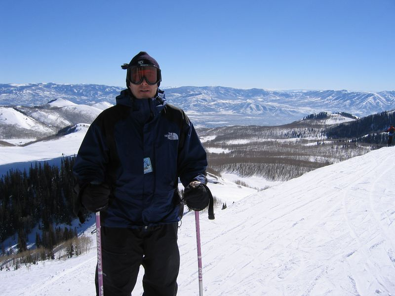 Troy, near the top of Deer Valley