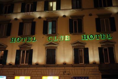Hotel Club Hotel... what a name...