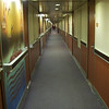 Our hallway... not very exciting, or in focus.