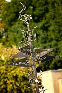 Direction and distances to zoo's around the world. Nikolaev, Ukraine.