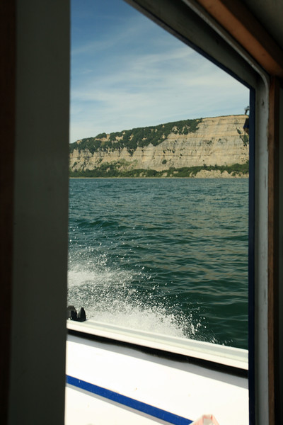 Heading back to shore